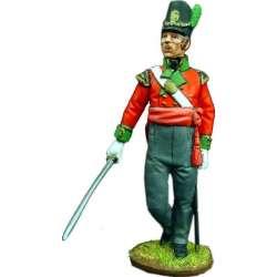 NP 100 toy soldier oficial regimiento infantería 69