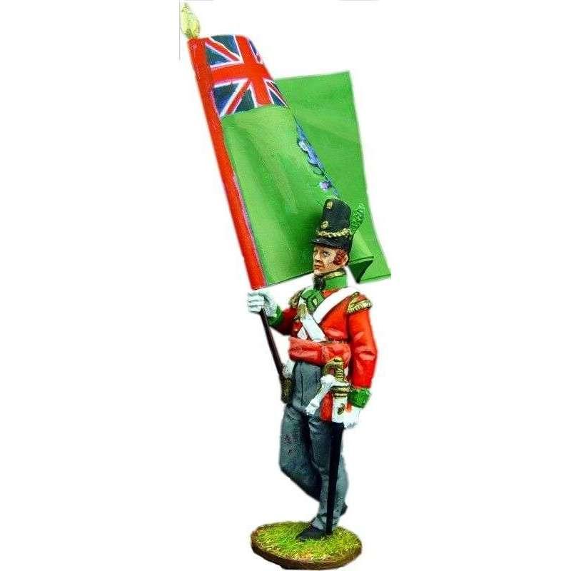 NP 101 Bandera regimental Regimiento infantería nº 69