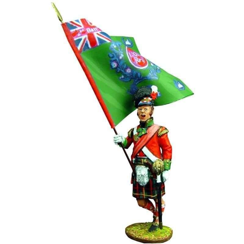 Bandera regimental Cameron highlanders