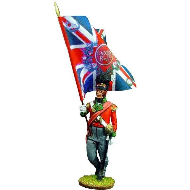 Cameron highlanders King´s color