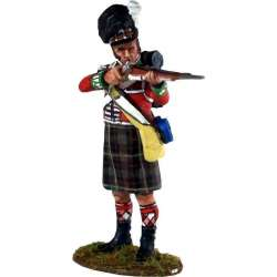 Cameron highlanders de pie disparando