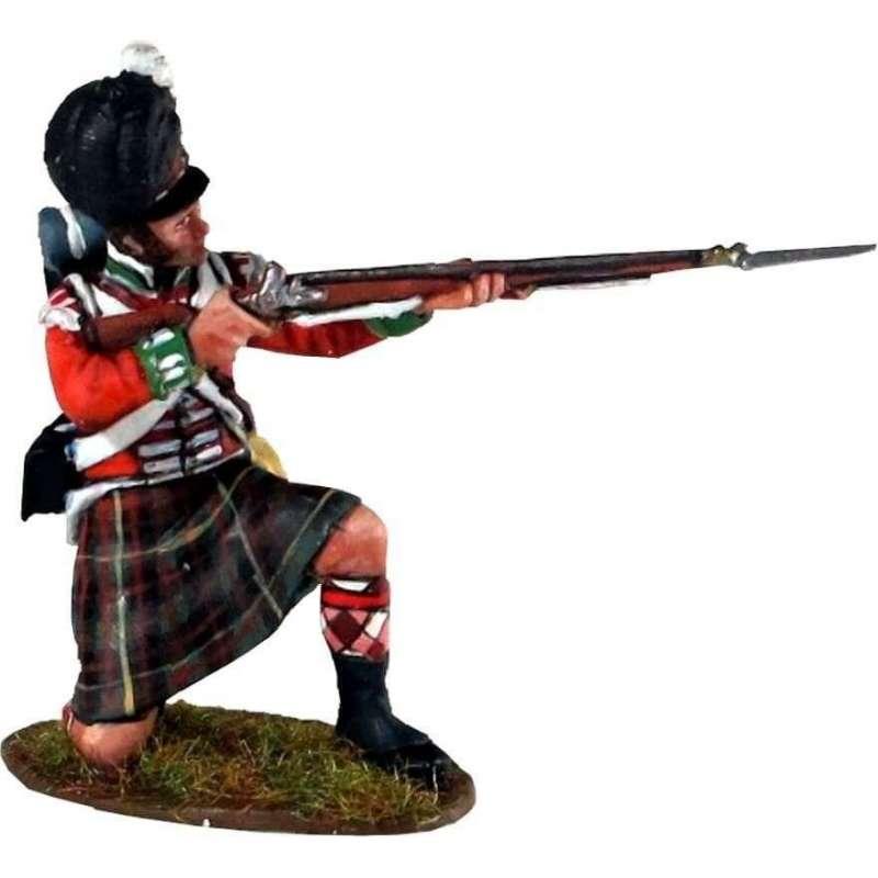 Cameron highlanders arrodillado
