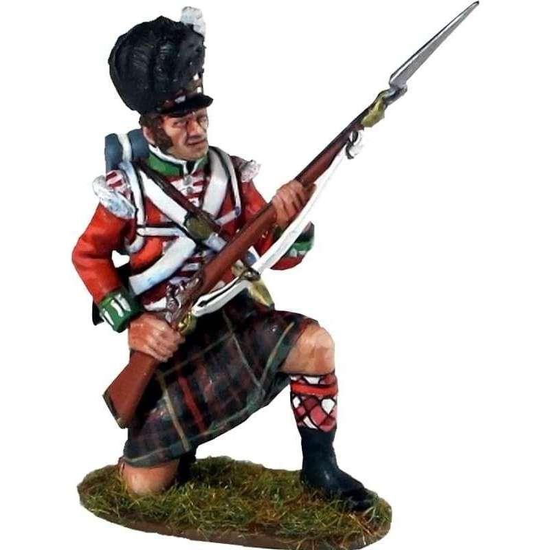 Cameron highlanders kneeling 2