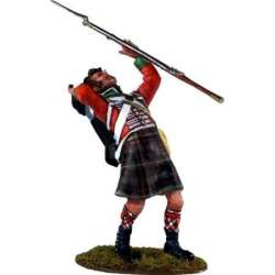 NP 312 toy soldier Cameron highlanders herido