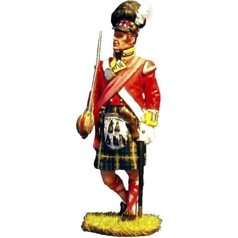 Oficial 92th Gordon highlanders