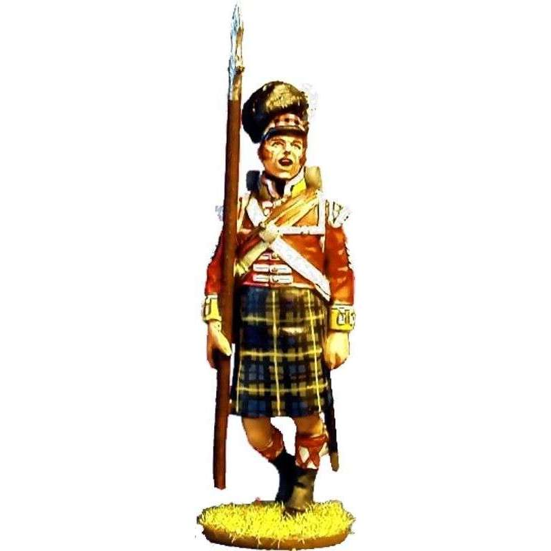 NP 084 Sargento mayor 92th Gordon highlanders