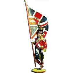 NP 090 toy soldier 92th Gordon highlanders regiment´s color