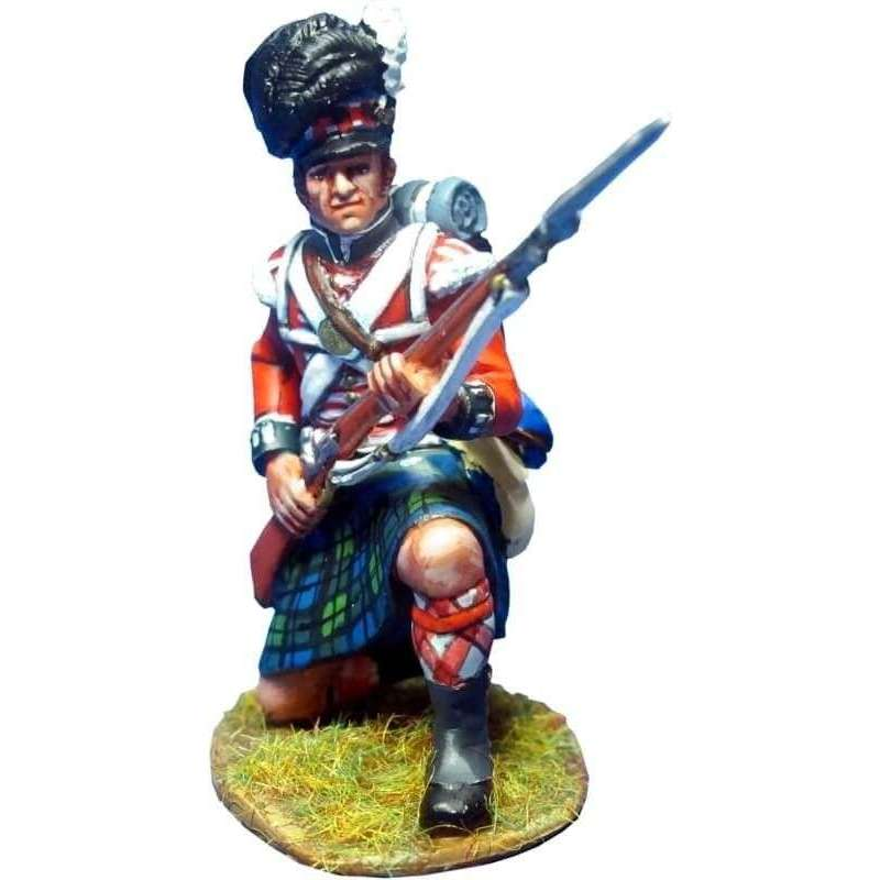 Black Watch grenadier kneeling