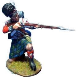 Black Watch grenadier firing