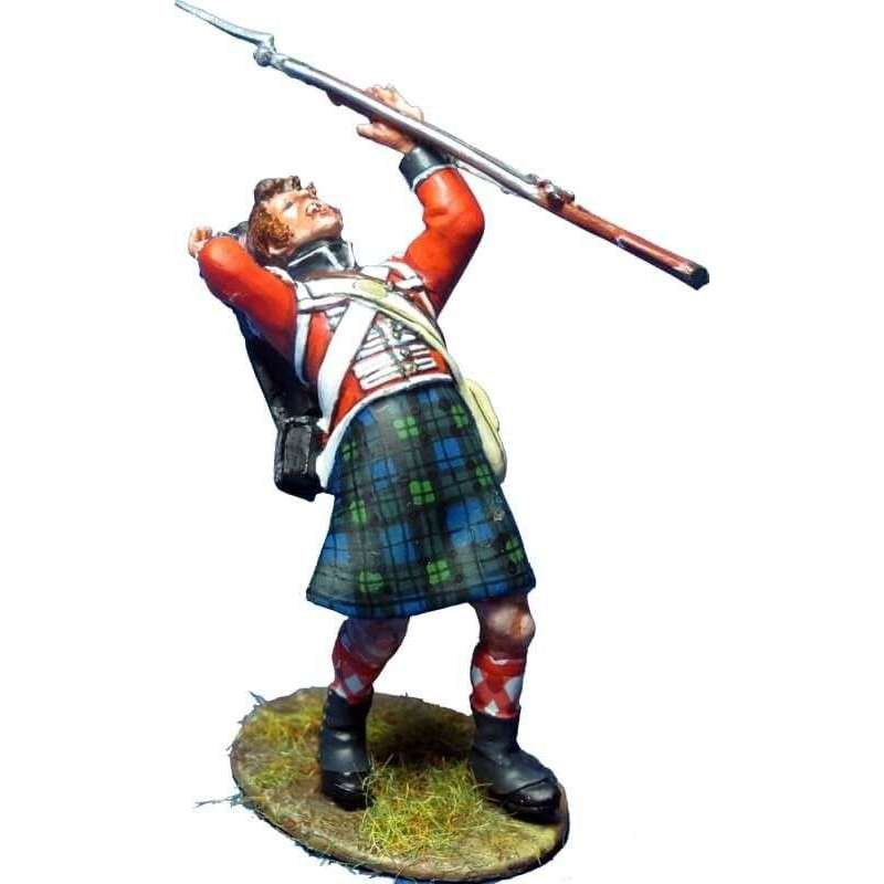Black Watch grenadier wounded