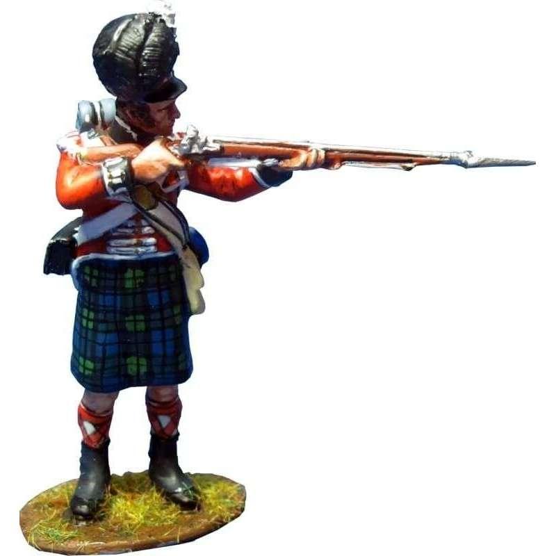 NP 327 Granadero regimiento Black Watch de pie disparando