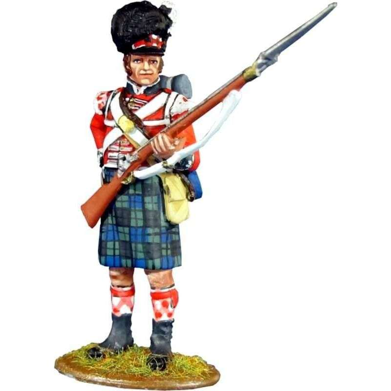 Regimiento Real escocés número 42 Black Watch recargando 2