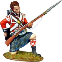 NP 374 toy soldier Black Watch kneeling reloading 1