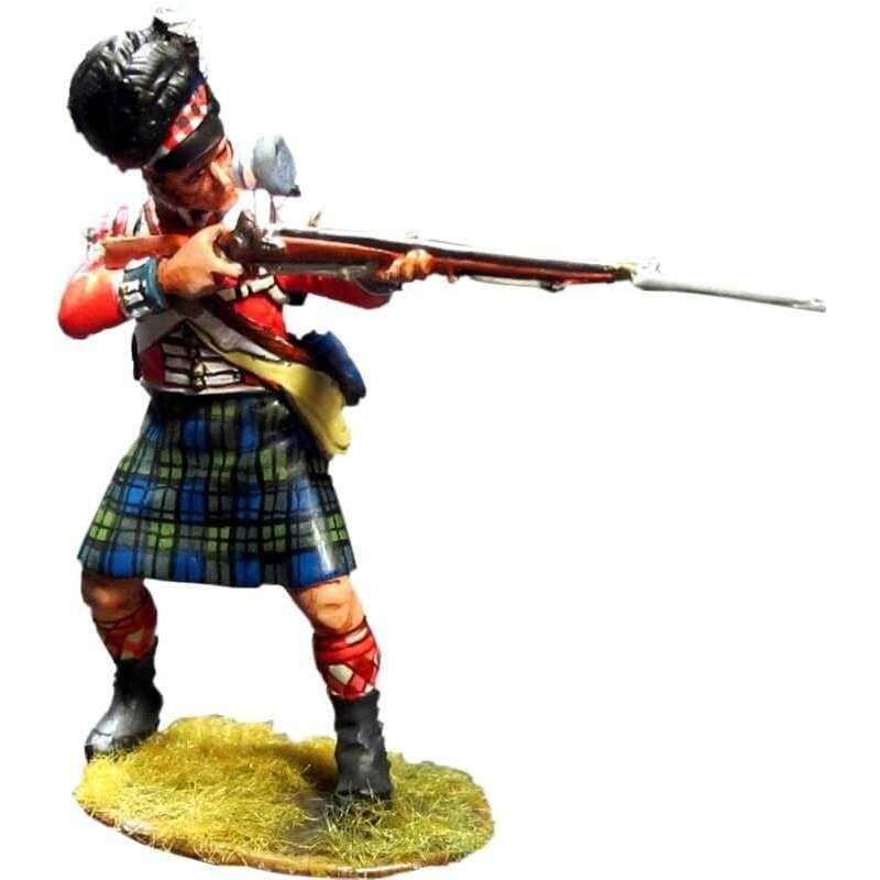 NP 413 Soldado Black Watch disparando