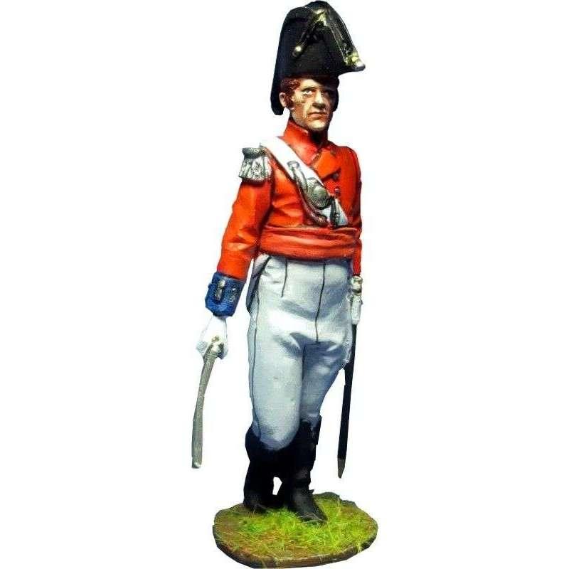 NP 391 Oficial Regimiento 104 infantería New Brunswick Canada 1810