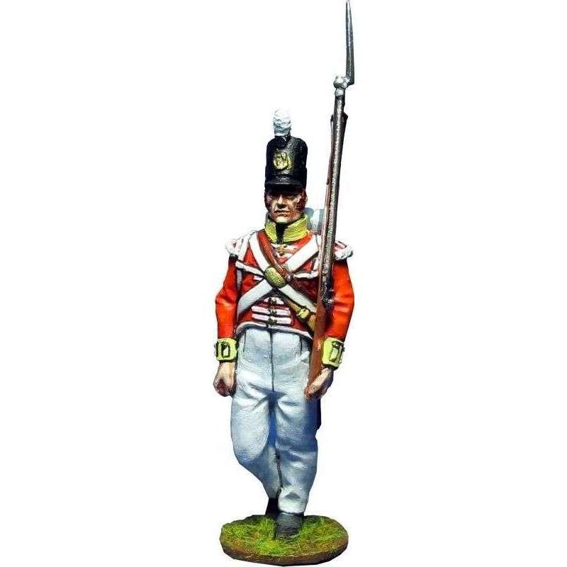 Granadero Regimiento 104 infantería New Brunswick Canada 1810