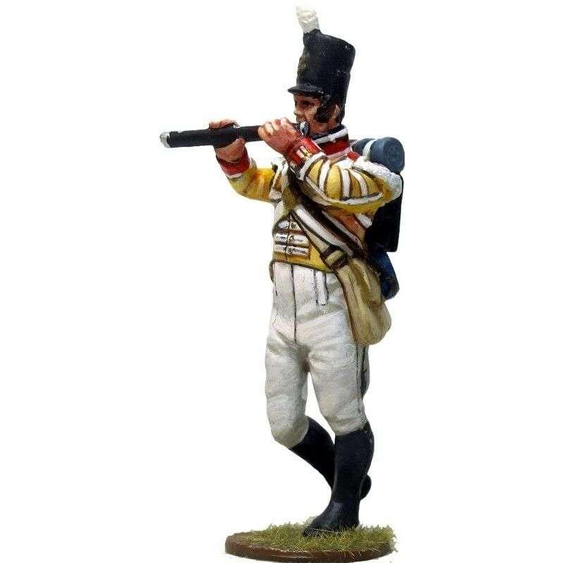 Pífano Regimiento 104 infantería New Brunswick Canada 1810