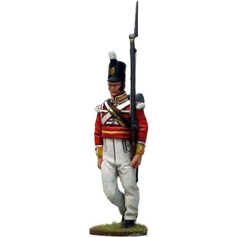 Sargento Regimiento 104 infantería New Brunswick Canada 1810