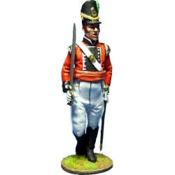 Regiment de Watteville Canada 1813 Cia legere officer