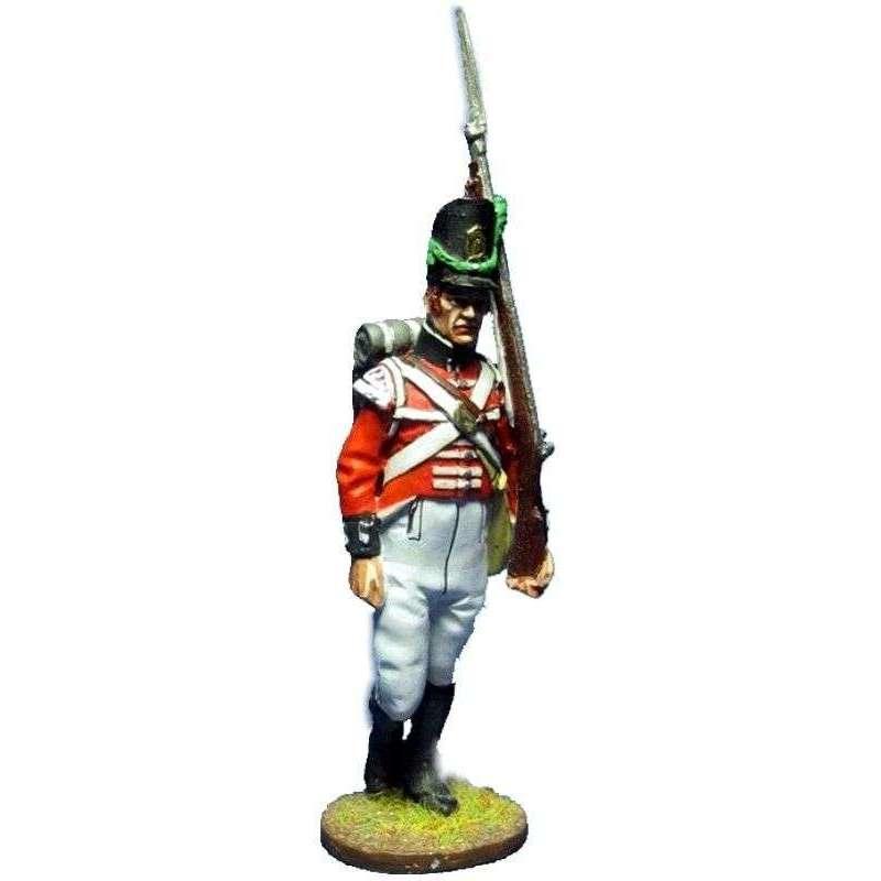 Soldado Regimiento de Watteville Canada 1813 Compañía ligera