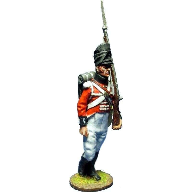 NP 396 Soldado Regimiento de Watteville Canada 1813 Comapía de centro