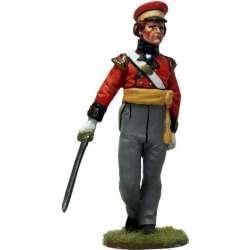 Oficial Batallón de campaña de Hannover 1814