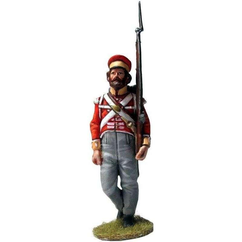NP 644 Soldado Batallón de campaña de Hannover 1814