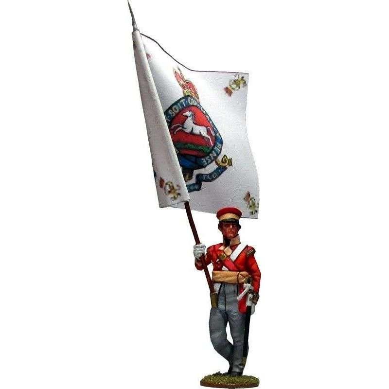 Bandera Batallón de campaña de Hannover 1814