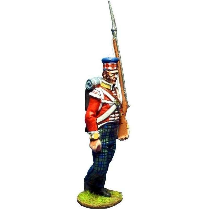 93rd Sutherland highlanders New Orleáns 1814 grenadier
