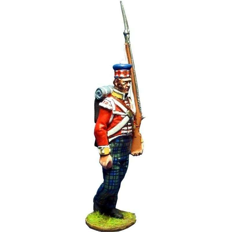 Granadero 93rd Sutherland highlanders New Orleáns 1814