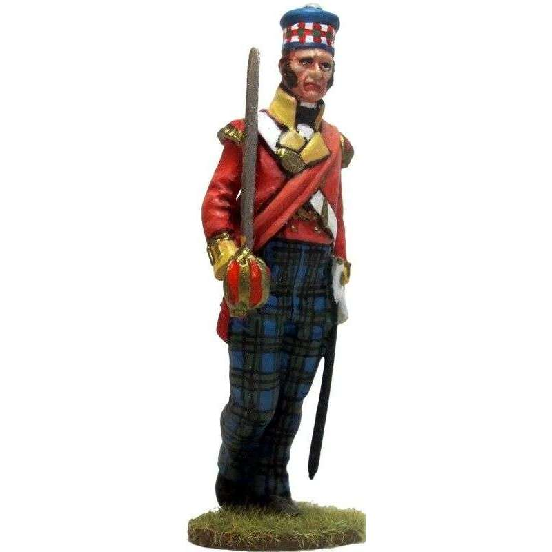 Oficial 93rd Sutherland highlanders New Orleáns 1814