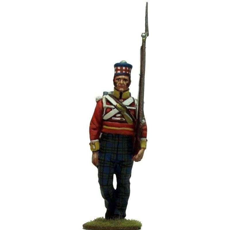 93rd Sutherland highlanders New Orleáns 1814 center company