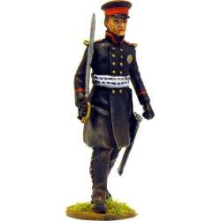 NP 215 toy soldier lutzow freikorps marching officer