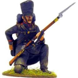NP 221 toy soldier lutzow freikorps square kneeling 1