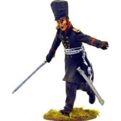 NP 222 toy soldier lutzow freikorps charging officer
