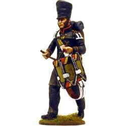NP 231 toy soldier tambor voluntarios Lutzow