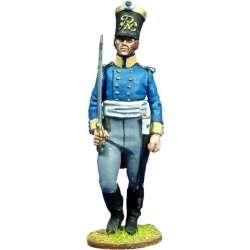 NP 093 toy soldier oficial Mosqueteros de Silesia