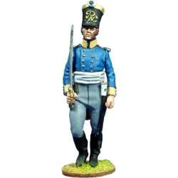 NP 093 toy soldier silesian musketeers officer