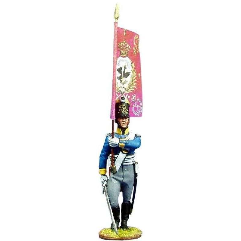 Silesian musketeers standard bearer