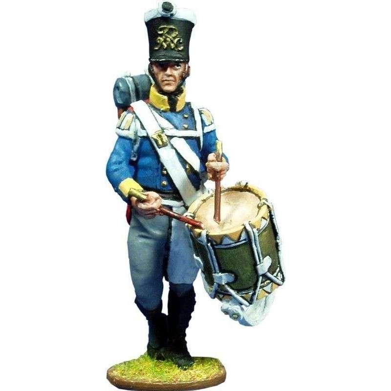 Silesian musketeers drummer