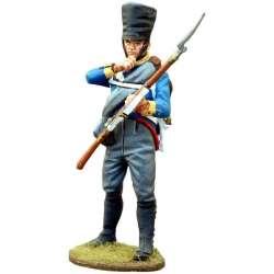 NP 443 toy soldier mosqueteros silesia recargando 1