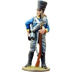 NP 444 toy soldier mosqueteros silesia recargando 2