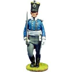 Oficial Fusileros regimiento Colberg