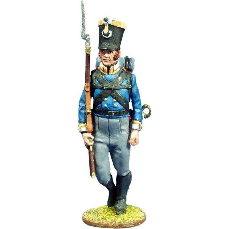 Sargento Fusileros regimiento Colberg