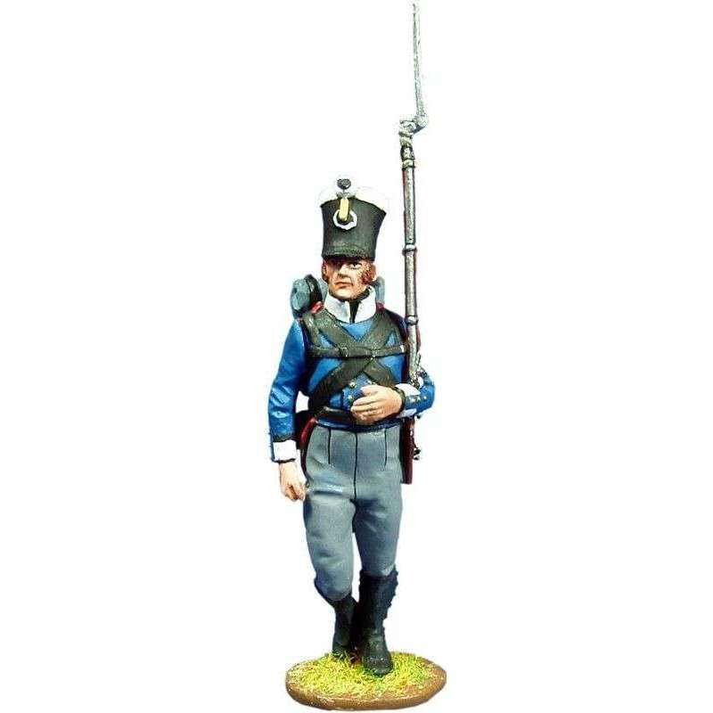NP 187 Fusilero 1 Fusileros regimiento Colberg