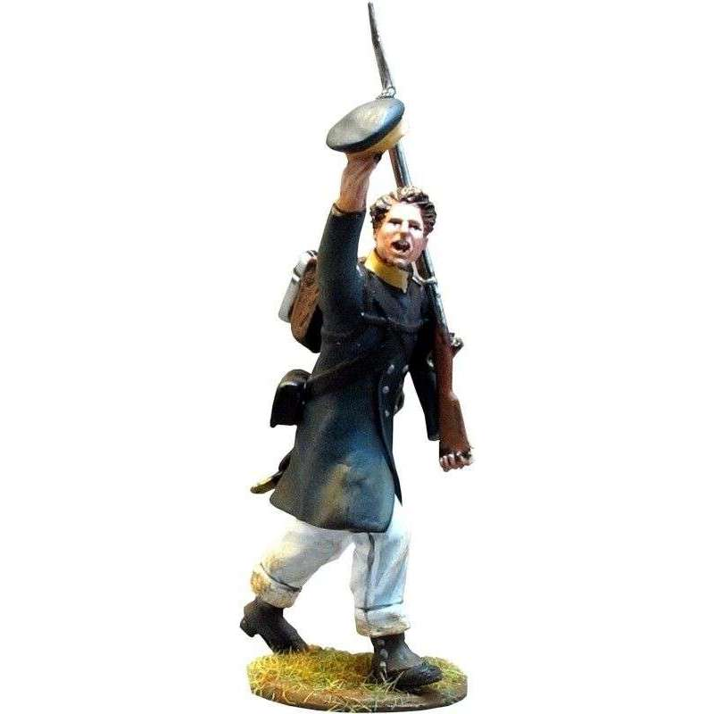 NP 283 Prussian Landwehr private saluting 3