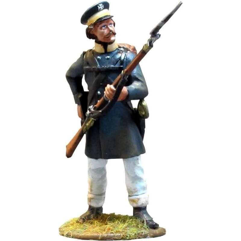 Prussian Landwehr de pie cargando 1
