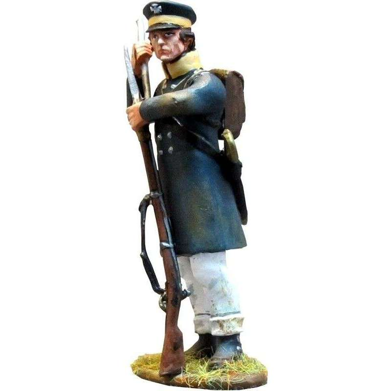 NP 287 Prussian Landwehr de pie cargando 2