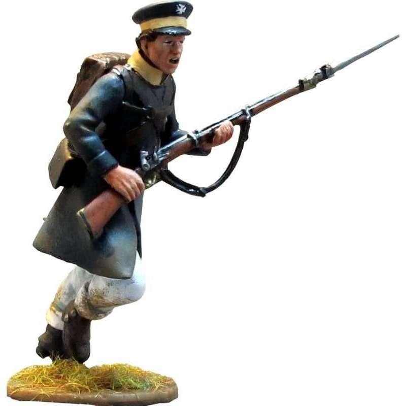 Prussian Landwehr charging 1