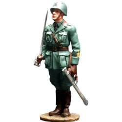 WW 026 Toy soldier oficial infantería italiano